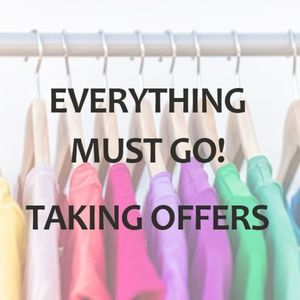 Other - Closet Clearout!! Everything Must Go!
